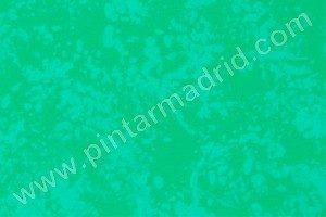 esponjado verde