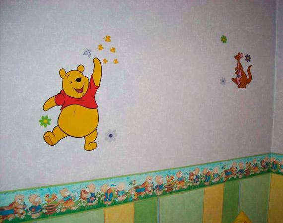 Pintar habitación infantil. Pintar paredes de casa. Pintor en Madrid
