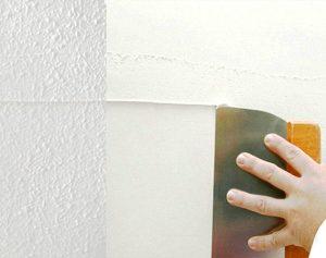 Quitar gotelé y alisado de paredes