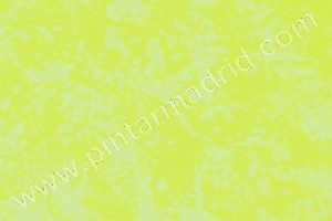 esponjado amarillo. pintor madrid